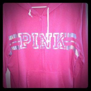 PINK Victoria's Secret Tops - PINK hoodie